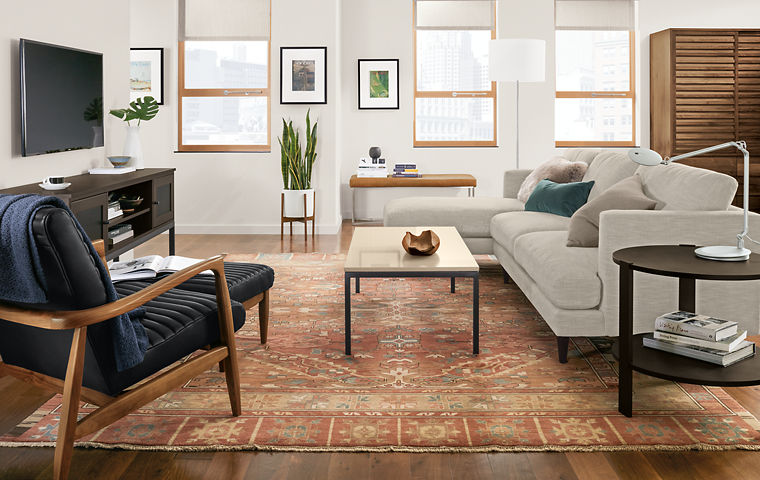 HOW TO CHOOSE THE RIGHT RUG FOR YOUR LIVING ROOM?