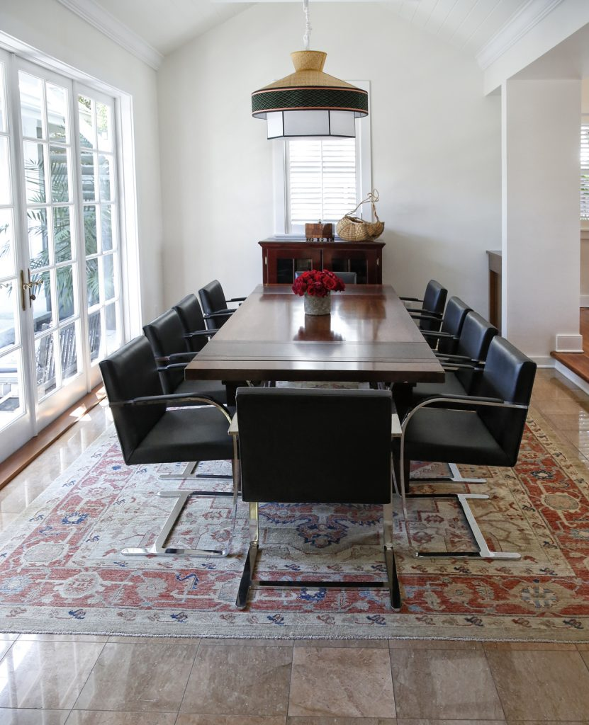 Why Adding A Rug Under Dining Table Sets Is A Must: Our Visit To Stuart Woods